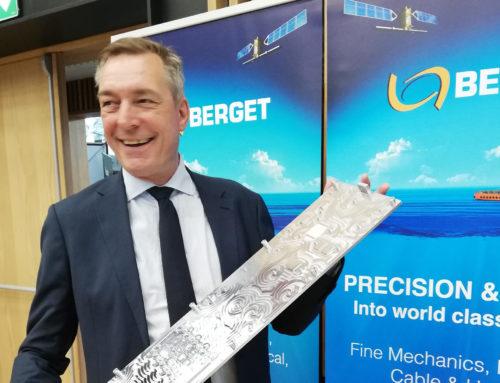 Norwegian Minister of Defence Frank Bakke Jensen visits Berget